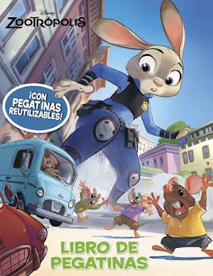 LIBRO - DISNEY Zootrópolis . Libro de pegatinas   (26 Enero 2016) | De la nueva película de Disney  Comprar en Amazon España