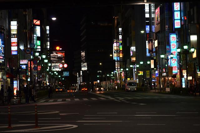Roppongi Street, Akasaka, Tokyo(六本木通り、赤坂、東京)