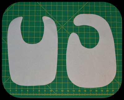 Made by Me. Shared with you.: Dribble Baby Bibs Pattern