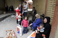para pengungsi palestina