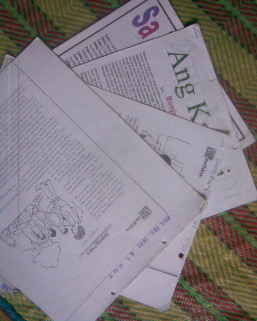 reaksyon papel dekada 70 View essay - dekada 70 reflection paper from is 104 at miriam college diana  joane m gumiran ms valerie buenaventura iii- ba communication section 14 .