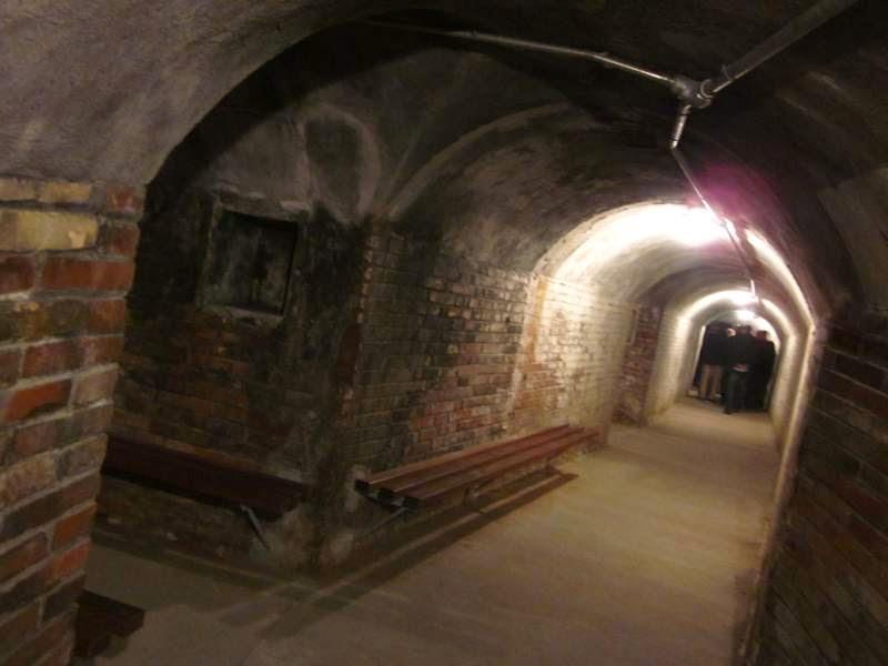 Tunnels of Refugi 307 in Barcelona