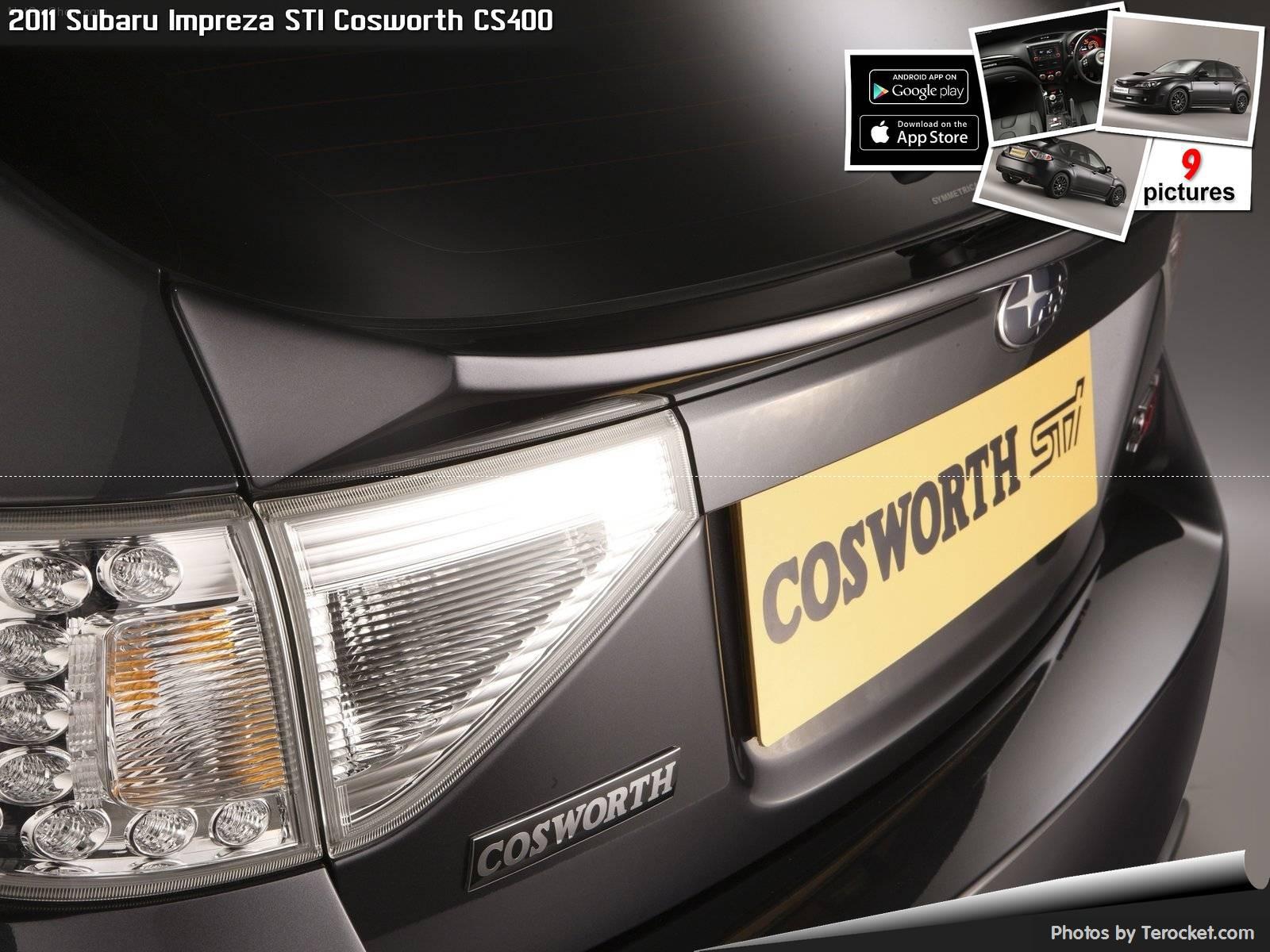 Hình ảnh xe ô tô Subaru Impreza STI Cosworth CS400 2011 & nội ngoại thất