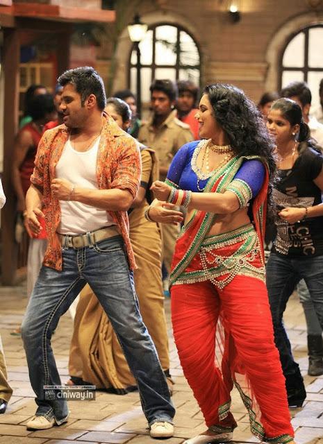 Swetha Menon Sunil Shetty in Kalimannu Item Song Stills