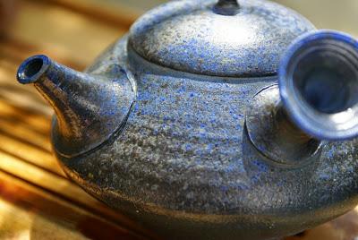kyusu japonais cuit au bois