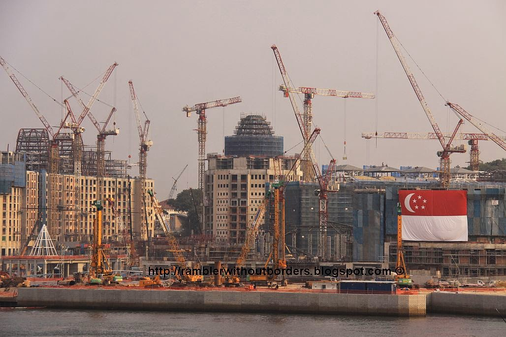 Resort World Sentosa under construction, Singapore