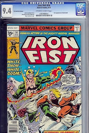 Iron Fist #14 35-cent Variant