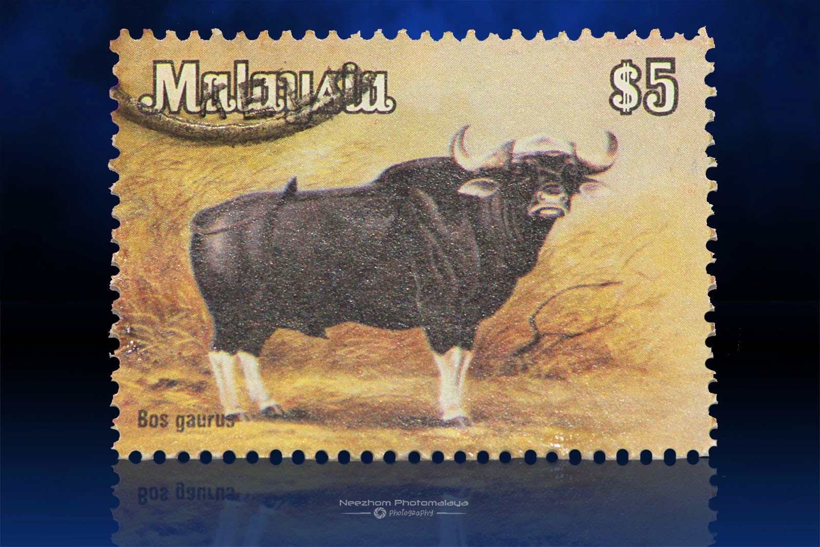 National Animals Series 1979 stamps - $5 Bos Gaurus