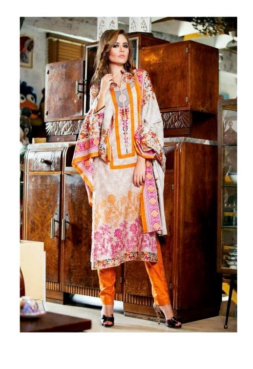 Full Printed Lawn Collection Suit