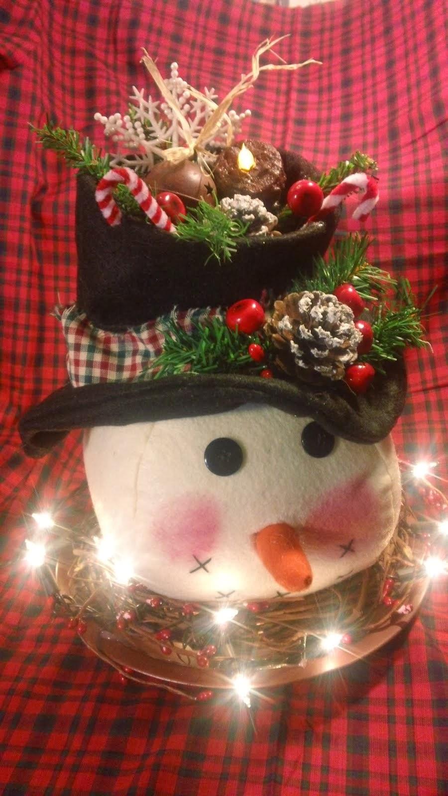 Seymore Snowman Pattern