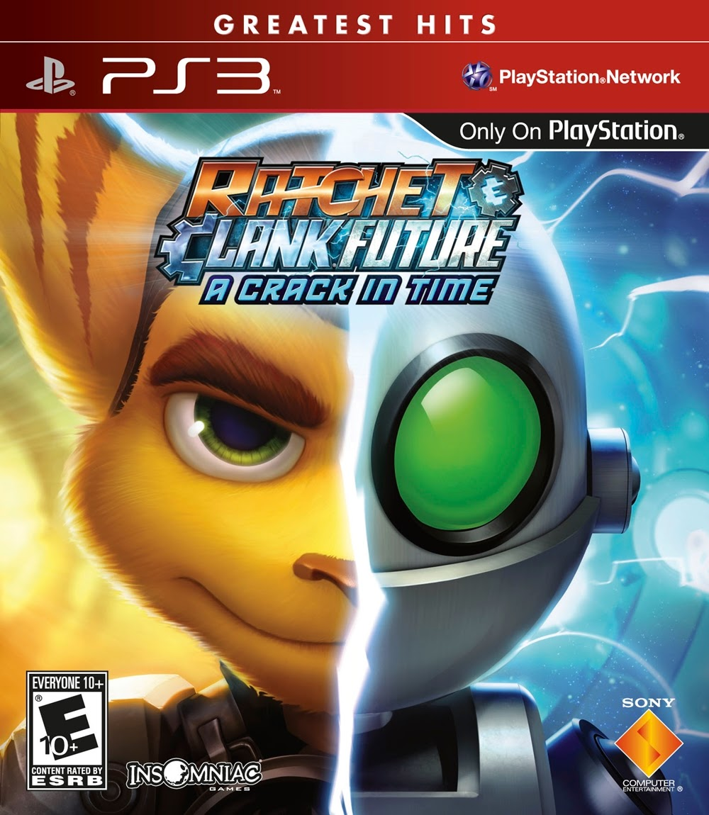 RATCHET & CLANK FUTURE: A CRACK IN TIME PS3