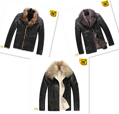 Mens Fur Lined Jacket