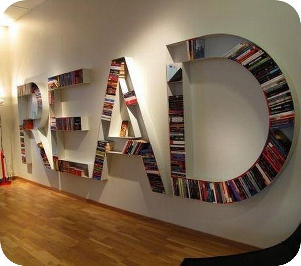 Ausgefallenes bücherregal  Kreative Bücherregale ~ #durchgebloggt