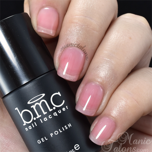 BMC Gel Polish Blushing Bride Swatch