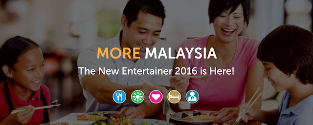 The Entertainer Asia Malaysia 2016