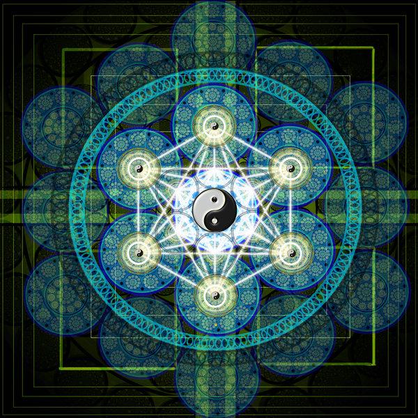 Círculo geométrico sagrado