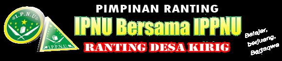 IPNU-IPPNU RANTING KIRIG