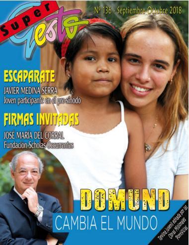 Con el DOMUND, los jóvenes podemos cambiar el mundo.