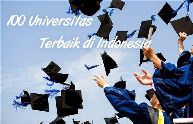 100 Universitas Terbaik di Indonesia Tahun  2014