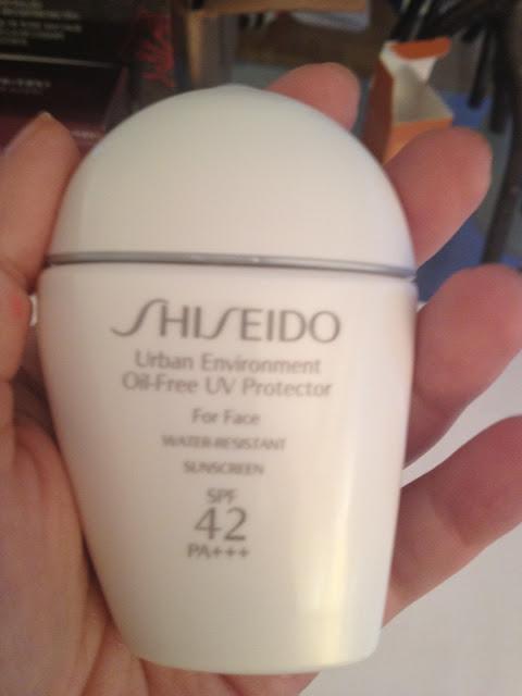 Shiseido Urban Environment Oil-Free UV Protector SPF 42 PA++++