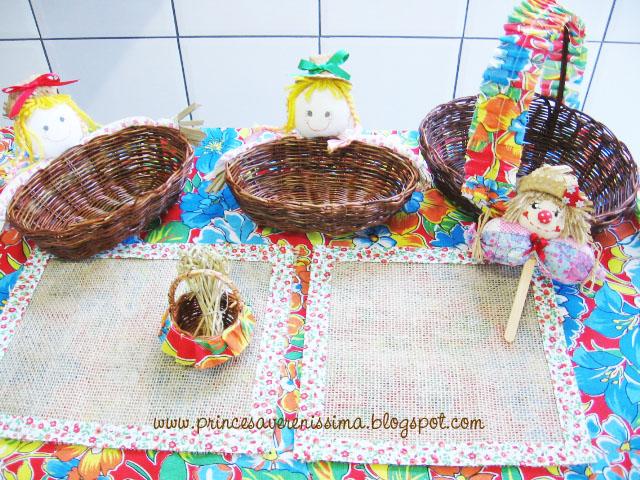 Festas Juninas  decoração com chita e ideias Comemorando o
