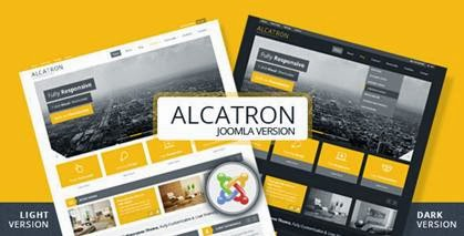Alcatron – Multipurpose Joomla Template