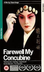 Peli homenajeada en ésta muestra: Farewell my Concubine (1993) 霸王別姬  (Adiós mi Concubina)