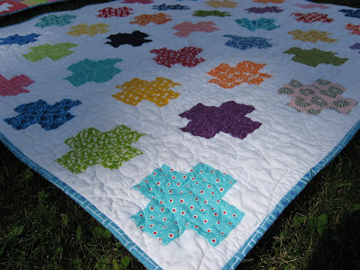 Plus Quilt ~ All Finished!