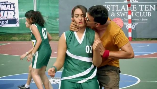 Sonakshi Sinha - Akhay Kumar from Holiday Movie Gallery Unseen Images