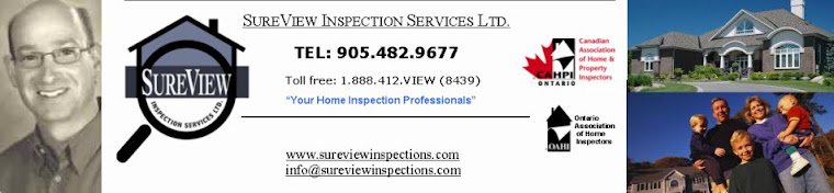 SureView Home Inspections-Home Inspector-Oakville Burlington Milton Hamilton Mississauga