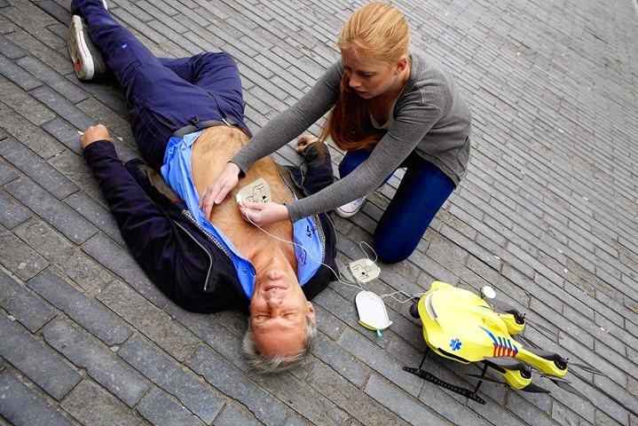 Life Saving Ambulance Drone