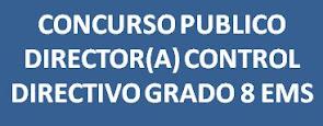 Concurso Público DIRECTOR CONTROL