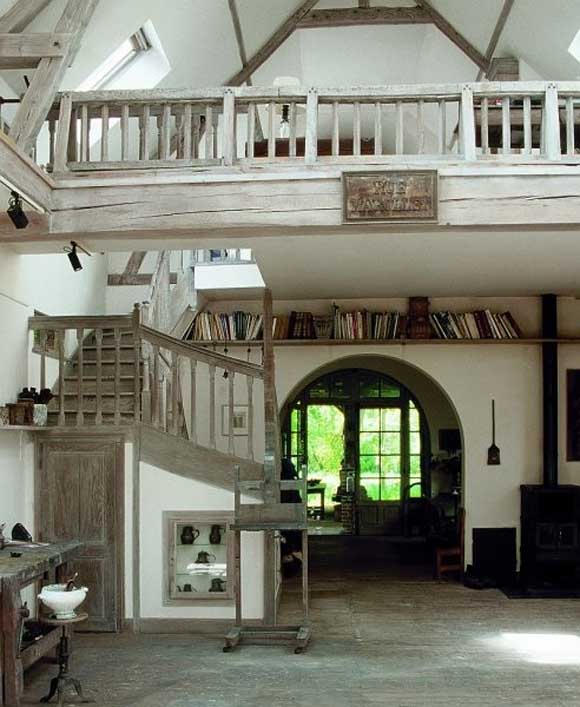 Creative country house design in french by artist for House creative design