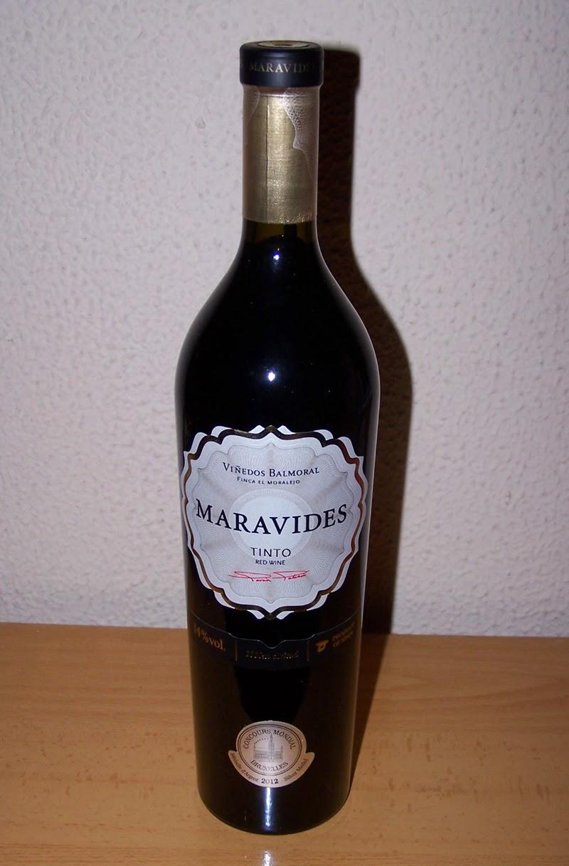 Maravides Tinto 2010, Vino de la Tierra de Castilla y león