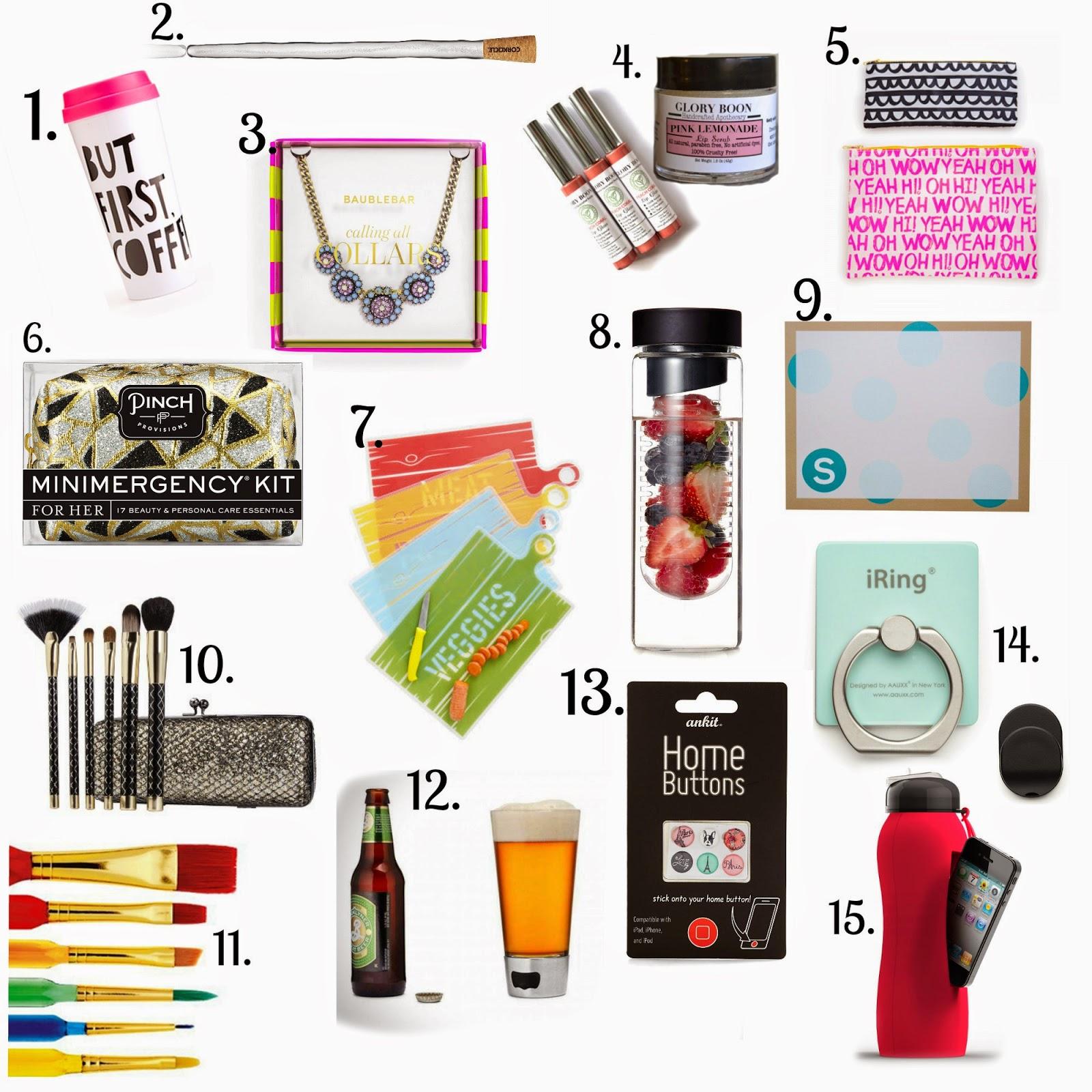 holiday gift guide under 20 secret santa mommy in heels. Black Bedroom Furniture Sets. Home Design Ideas