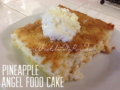 http://apeekintomyparadise.blogspot.com/2013/05/pineapple-angel-food-cake.html