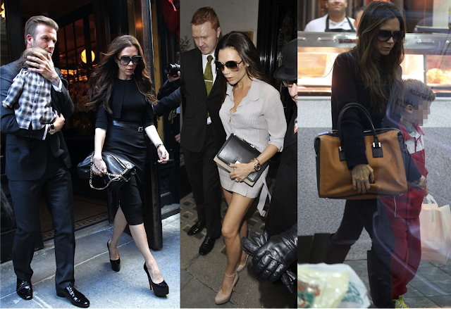 how to grab a bag. Victoria Beckham