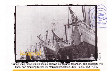 "Postcard ""KAPAL"""