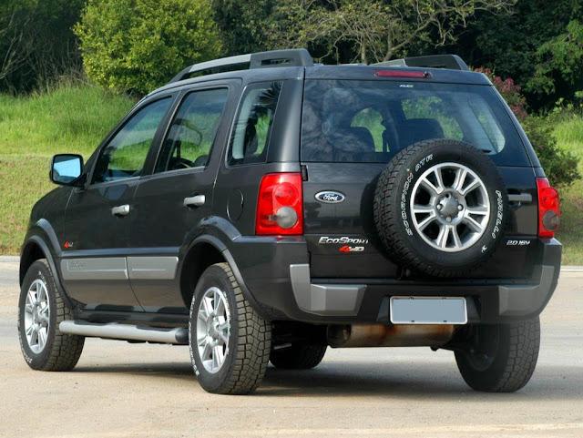 Ford EcoSport 2012 - 4WD 2.0 Flex - traseira