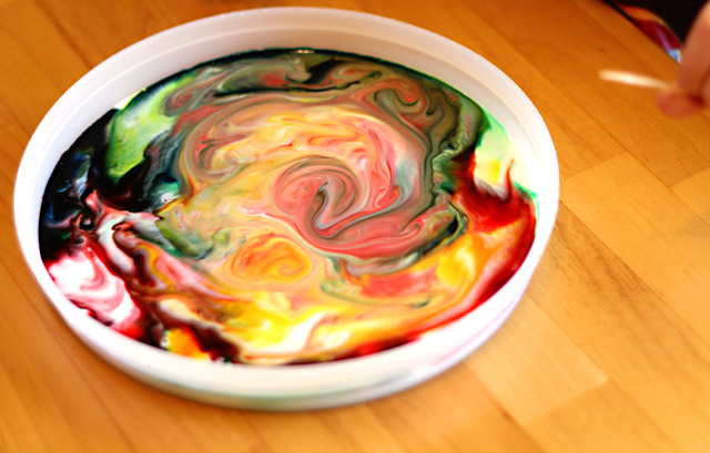 Milk Soap Painting Experiment | Munchkins and Mayhem
