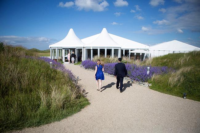 Wedding Photography Doonbeg Ireland, marquee