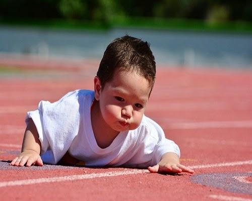 Image bébé sportif