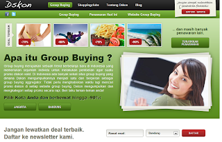 Dskon.com, Layanan Deal Aggregator untuk Website Group Buying