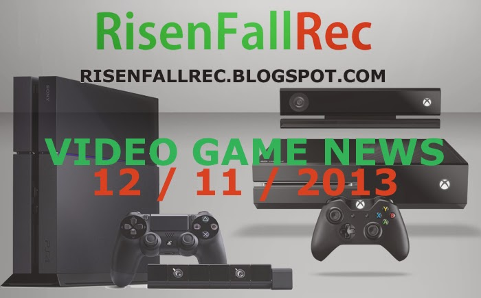 Top Daily Video Game News 12.11.2013