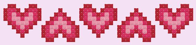 coração ponto cruz para iniciantes