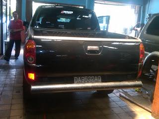 Pengambilan Mitsubishi strada DA 9532 AQ Palangkaraya