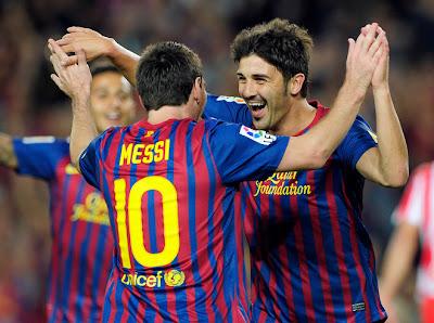Barcelona 3 - 0 Racing Santander (2)