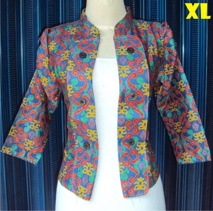 blazer-batik-motif-etnik-tosca