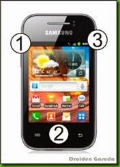 Cara Flashing Samsung Galaxy y