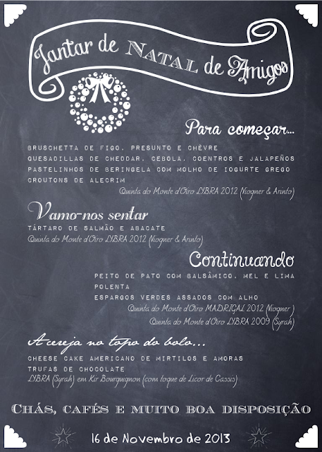 Personalized Chalk Menu by BistrotChic